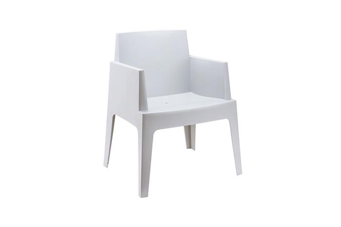 Stapelbare box stoel een eyecather op je terras vanaf 69 for Kuipstoel voor buiten