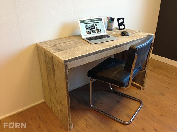 Steigerhouten bureau tafel Essex - Steigerhoutenmeubelshop.nl