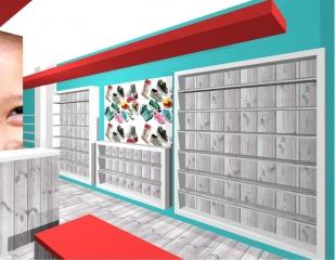 Winkelinrichting schoenenwinkel 2