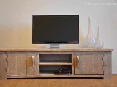 steigerhouten tv meubel Roma