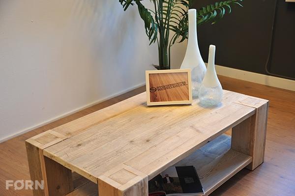 steigerhouten salontafel poten door blad