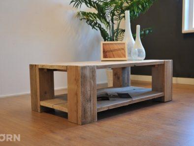 Steigerhouten salontafel Ravine rechthoekig model