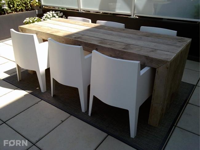 Steigerhouten tafel of bartafel Munchen op maat   F u00d8RN