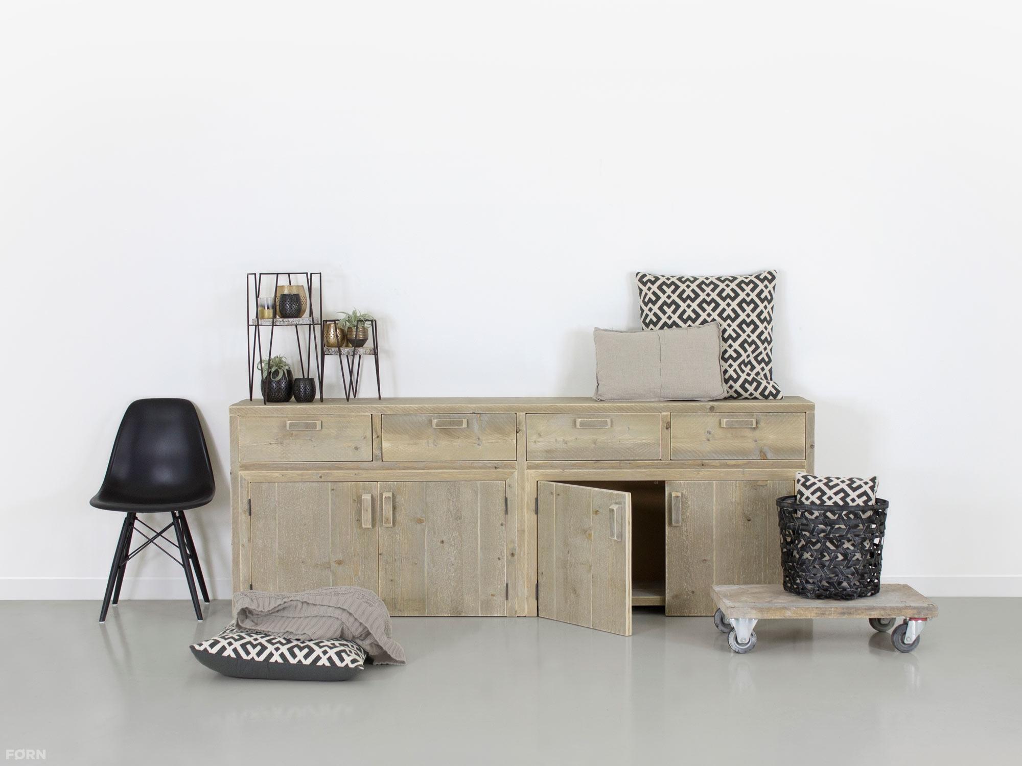 steigerhouten dressoirs van steigerhout -fØrn, Deco ideeën