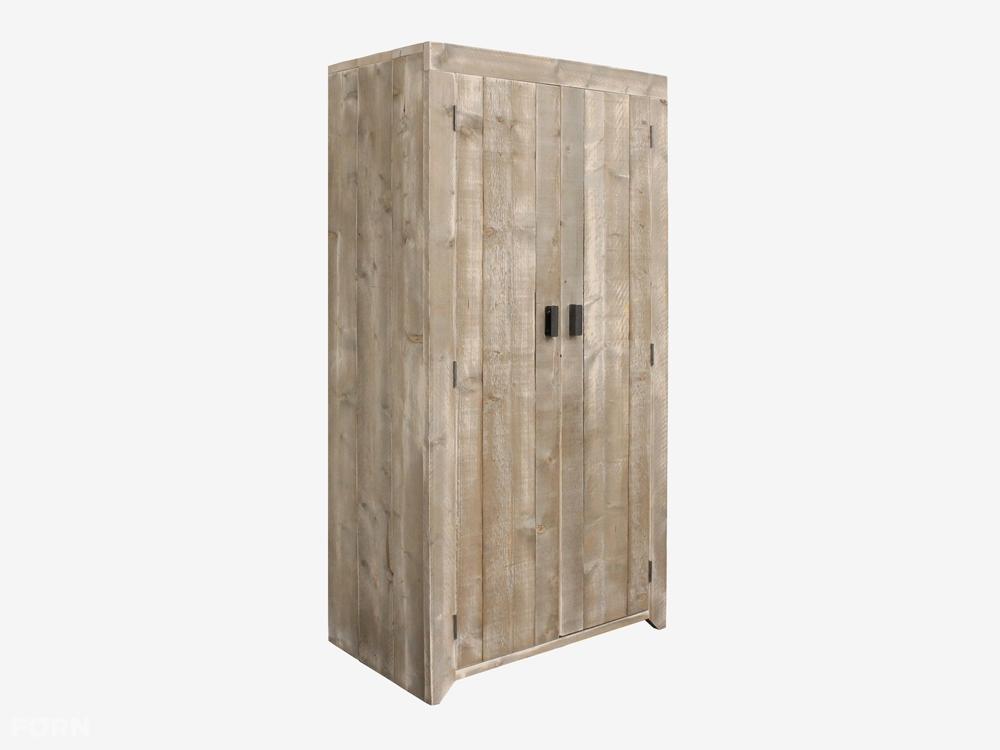 Wees de eerste om u201cSteigerhouten kledingkast Ingvaru201d te beoordelen ...
