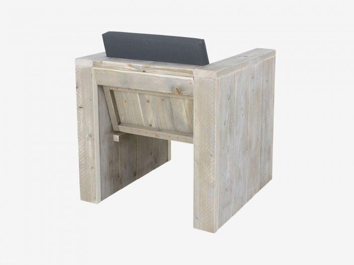 steigerhouten loungestoel achterkant narvik witte achtergrond
