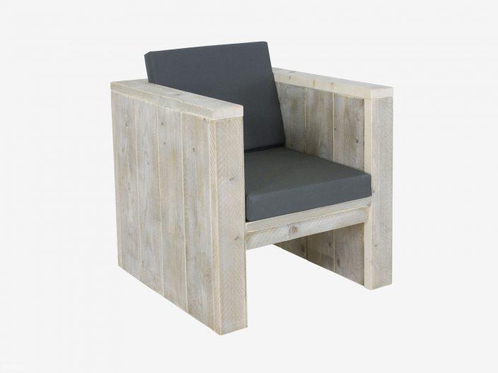 steigerhouten loungestoel narvik witte achtergrond