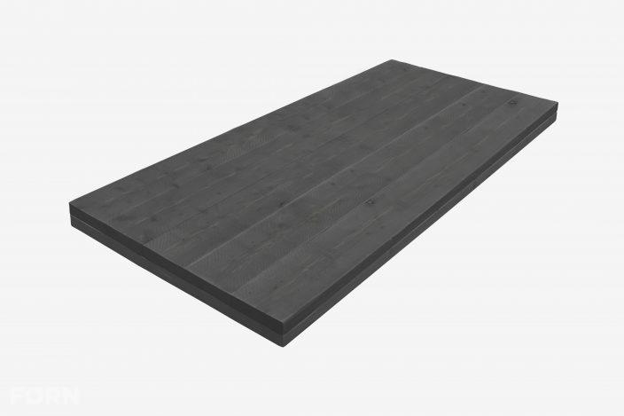 steigerhouten tafelblad black wash