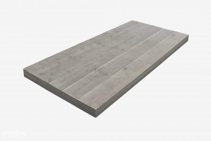 steigerhouten tafelblad greywash
