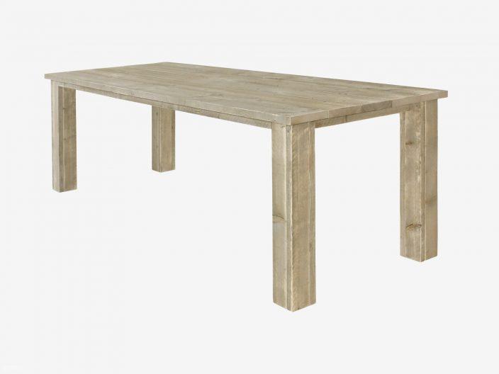 bob steigerhouten tafel witte achtergrond