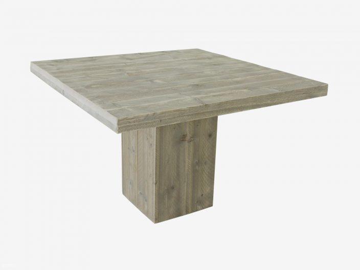 steigerhouten tafel trier vierkant witte achtergrond