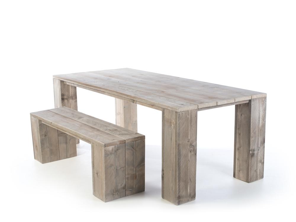 Steigerhouten eettafel tafel veldhoven