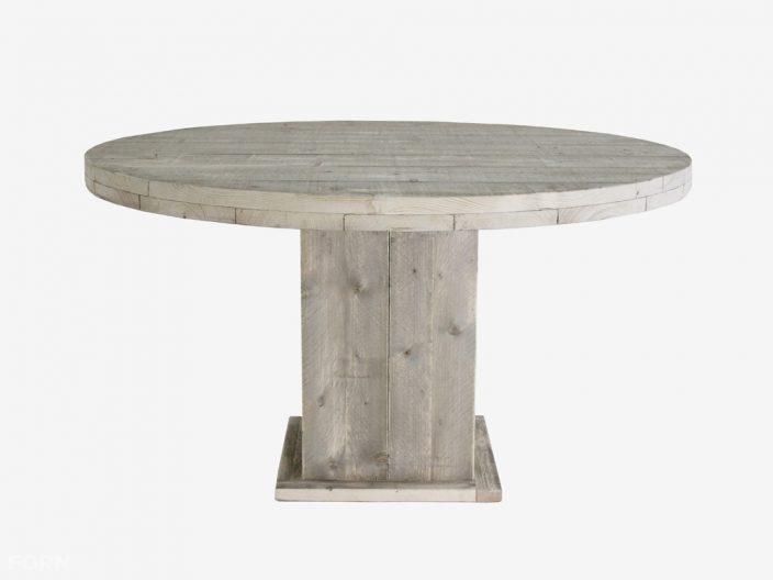 steigerhouten ronde tafel emma