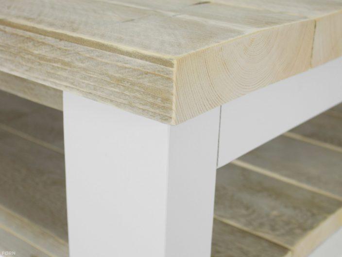 steigerhouten salontafel millau detail