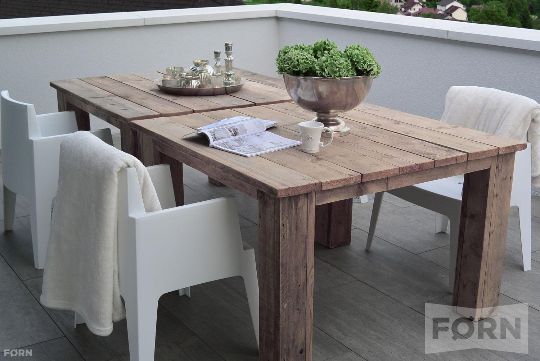 Steigerhouten tafel chablis steigerhouten tafel op maat for Steigerhout op maat