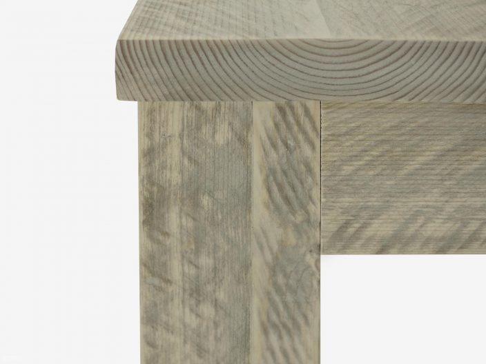 steigerhouten tafel Pampoen detail