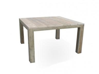 Vierkante tafel steigerhout