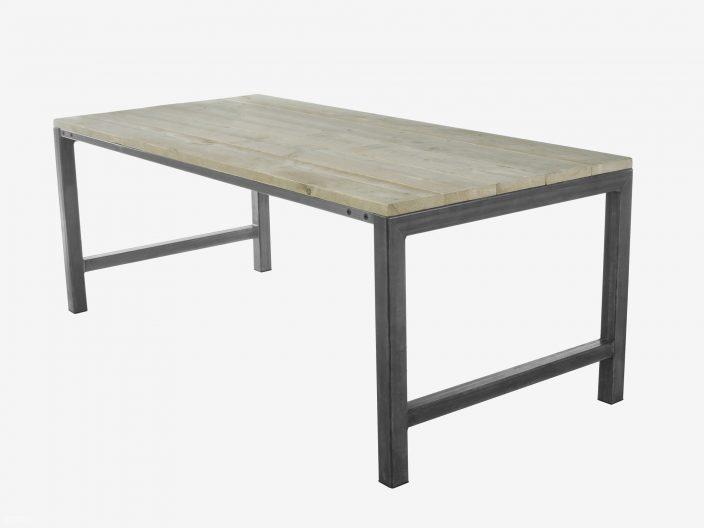 Industriele tafel Olivia witte achtergrond1