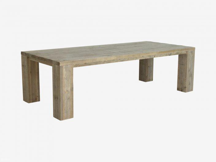 Steigerhouten tafel kollmar met extra dikke planken witte achtergrond