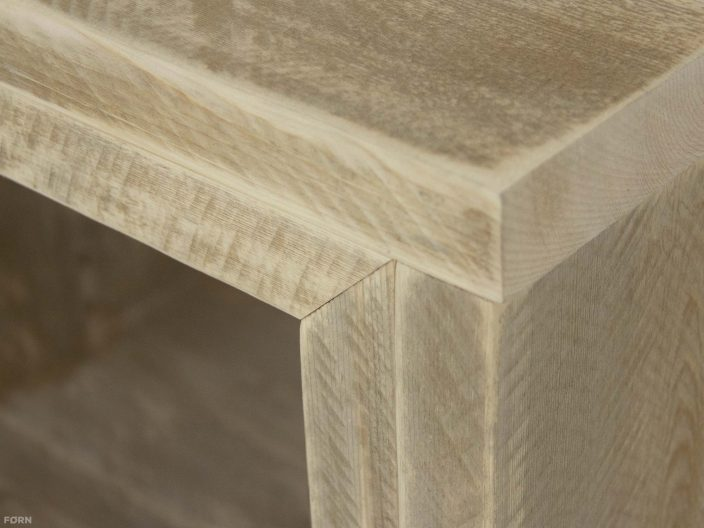 Steigerhouten tv meubel laghetto detail
