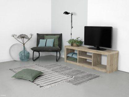 Steigerhouten tv meubel laghetto sfeer