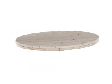Rond tafelblad steigerhout