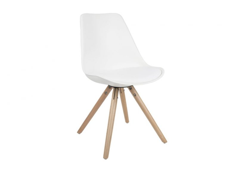 Witte Zuiver stoel