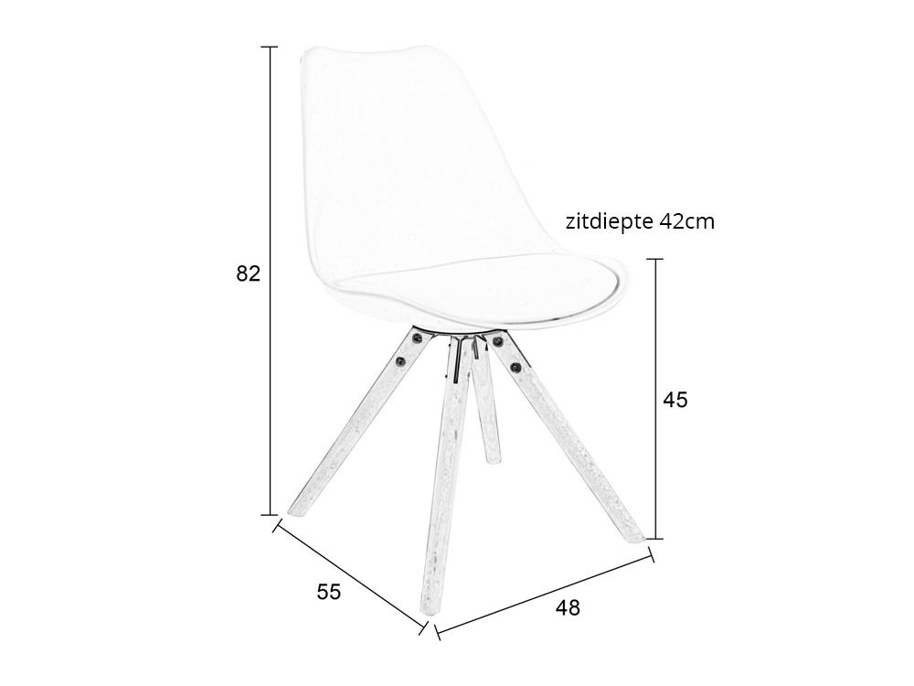 Witte Stoelen Houten Poten: Sitta mesa stoelen tafels en kasten ...