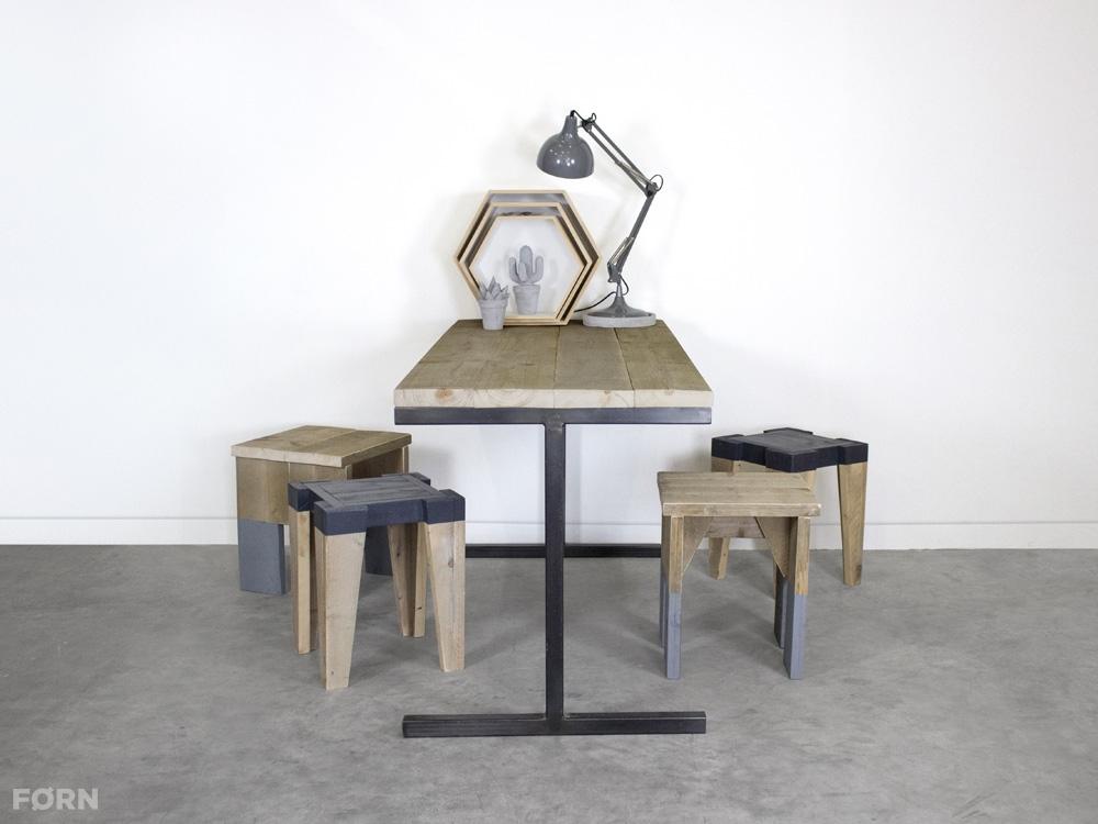 Industriële tafel of bureau pip industriële tafels