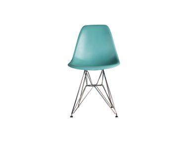 DSW stoel groen Eames style