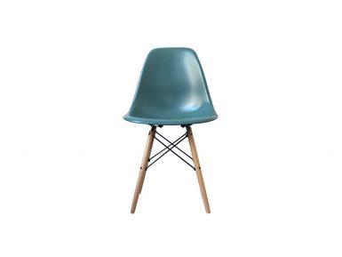 DSW eames style stoel Petrol