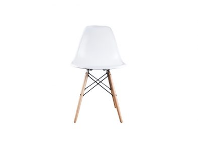 DSW wit Eames style stoel wit