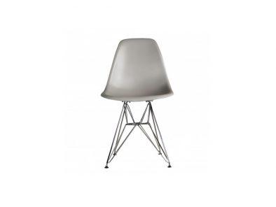 DSW stoel warm grijs