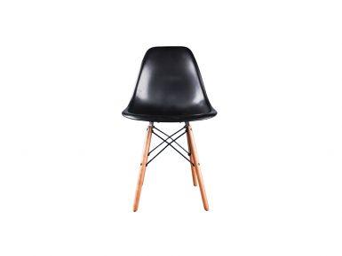 DSW stoel zwart beuken