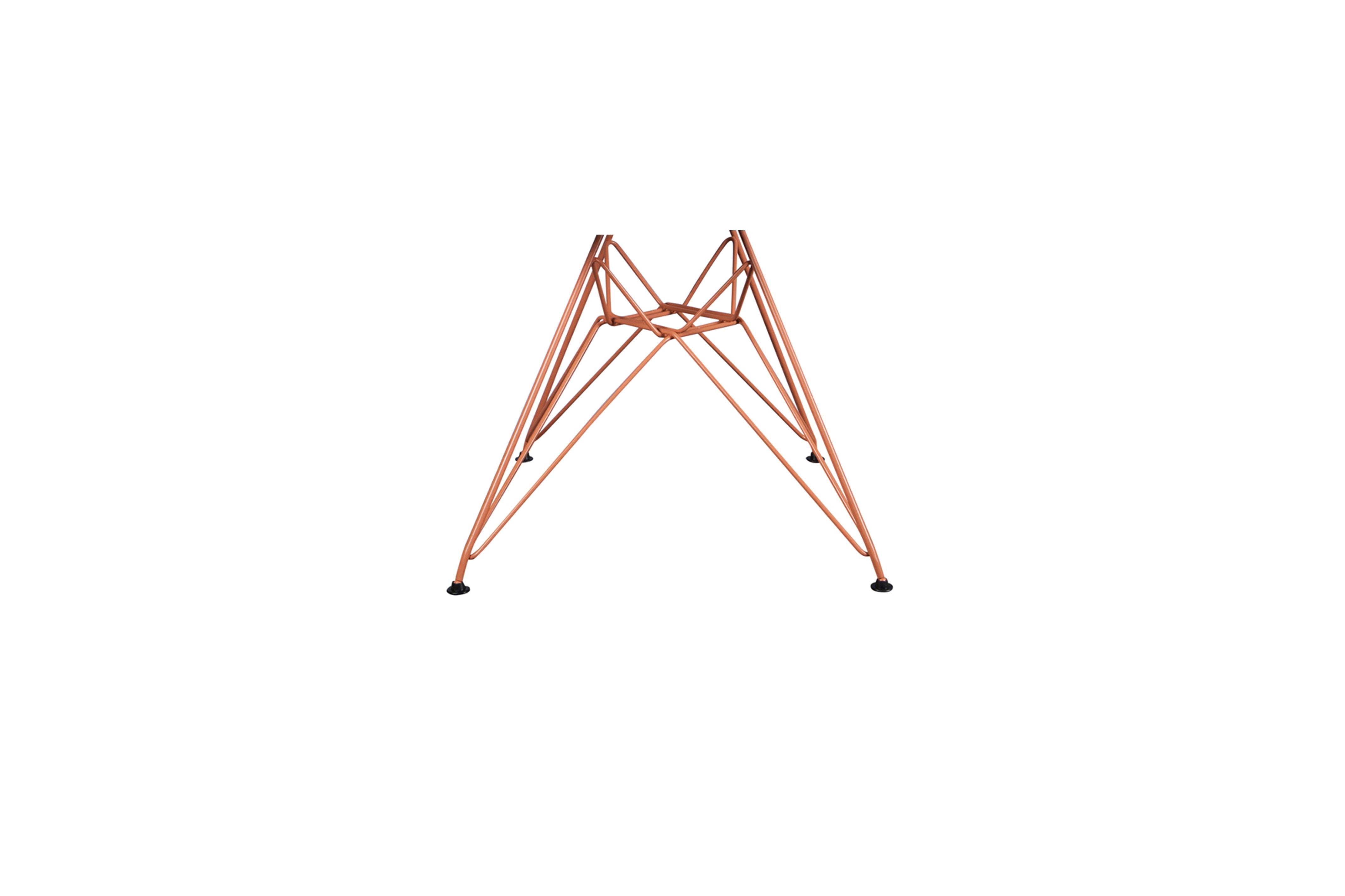 Oranje metaal