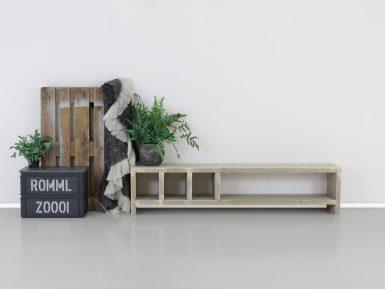 Steigerhout TV meubel Mees