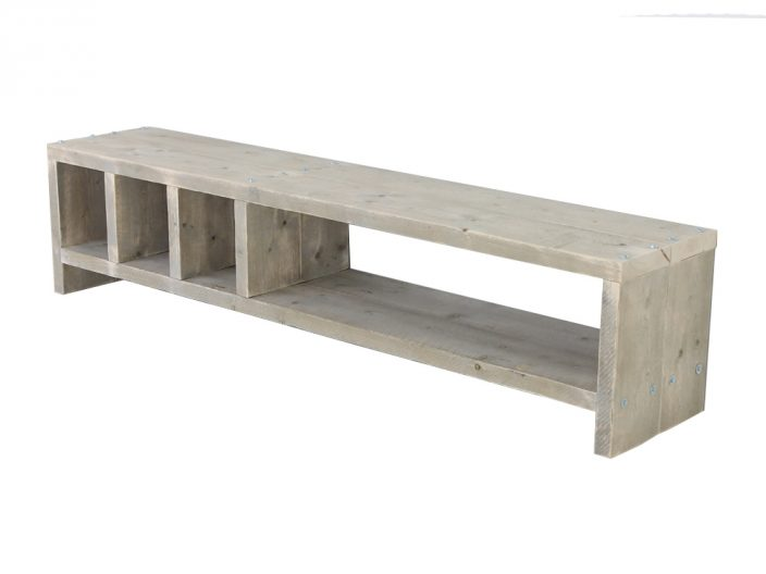 Steigerhout TV meubel Mees op maat