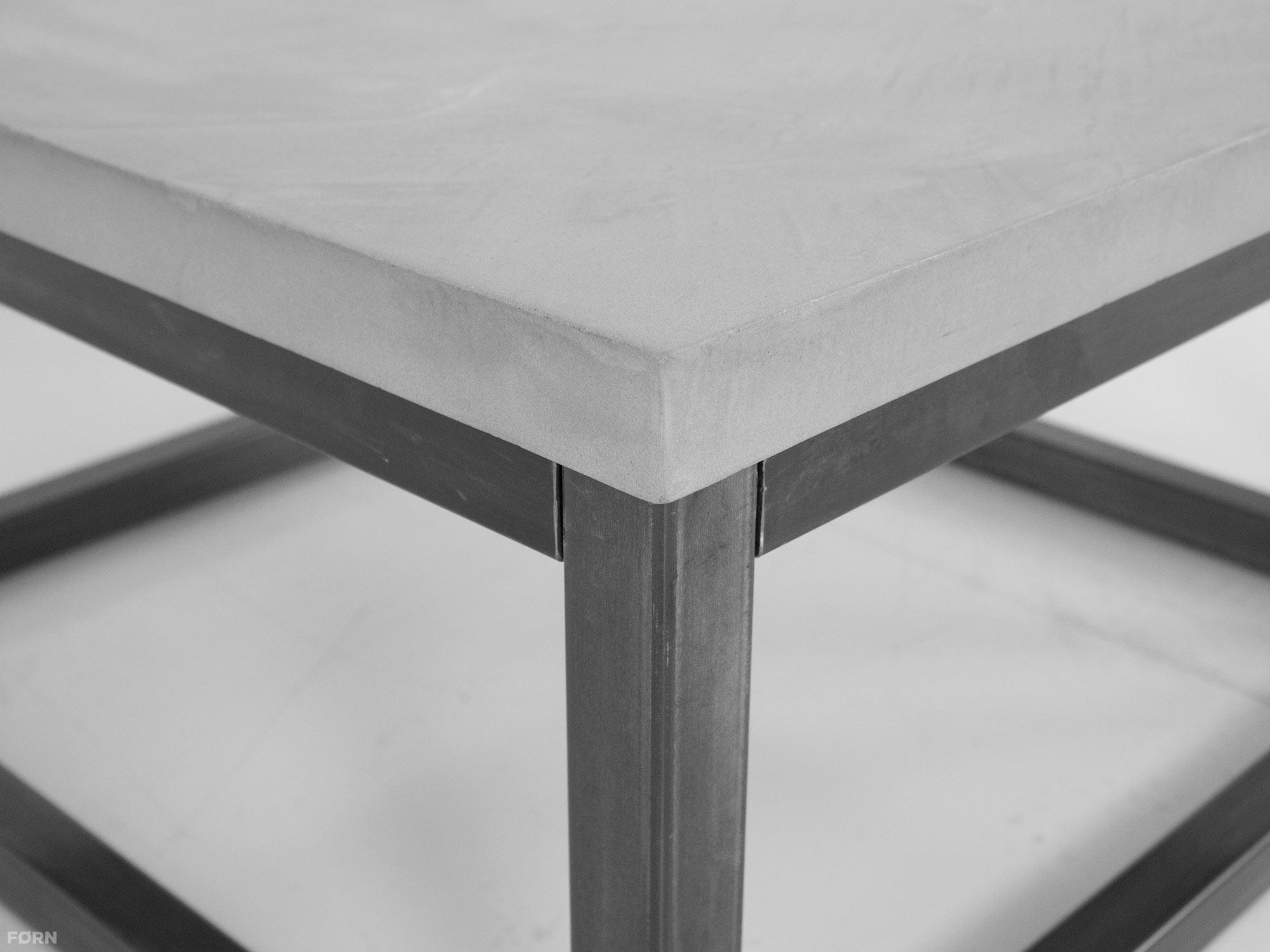 Salon Tafel Staal.Industriele Salontafel Betonlook Jens