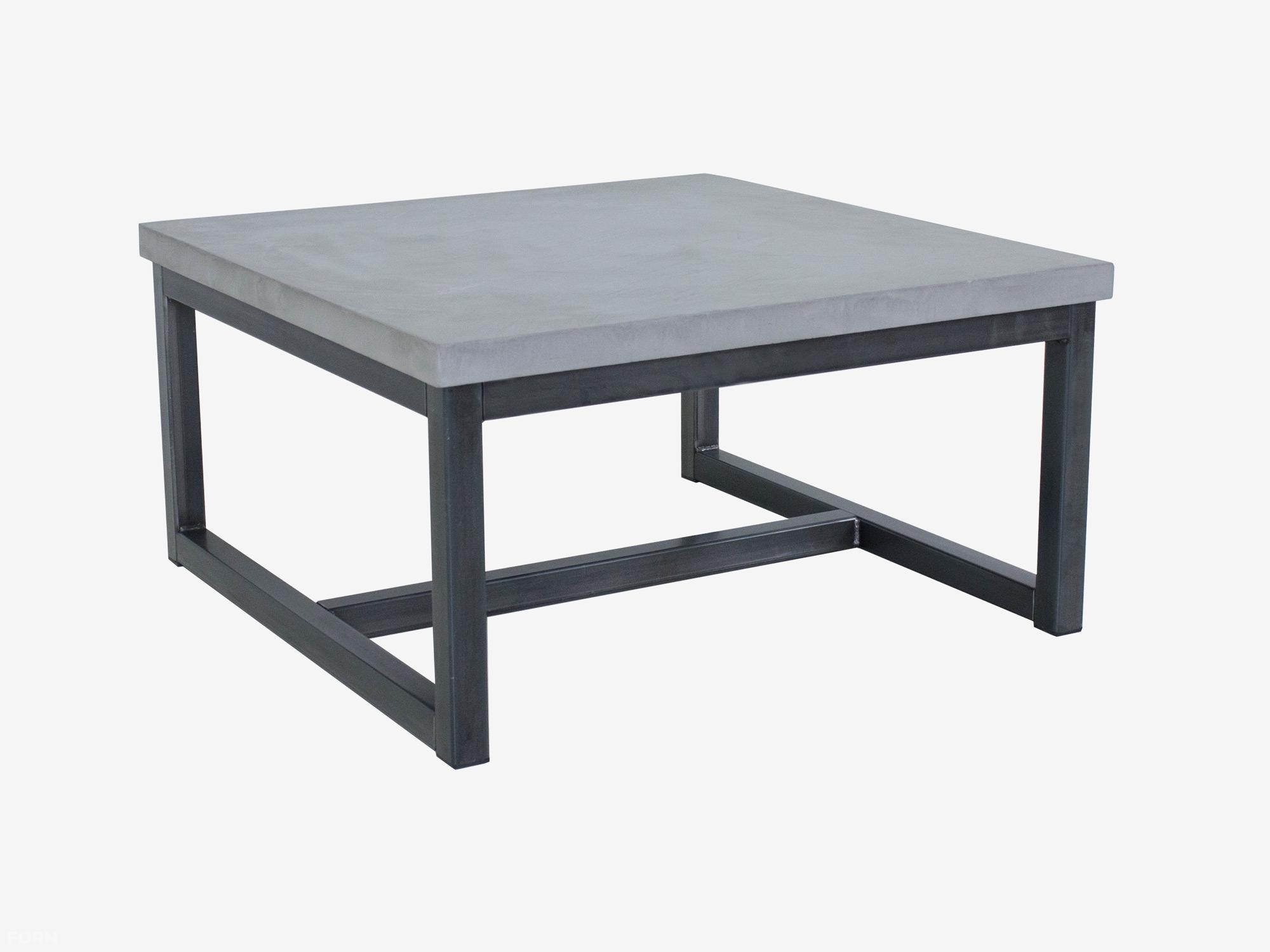 Salon Tafel Staal.Industriele Salontafel Betonlook Max
