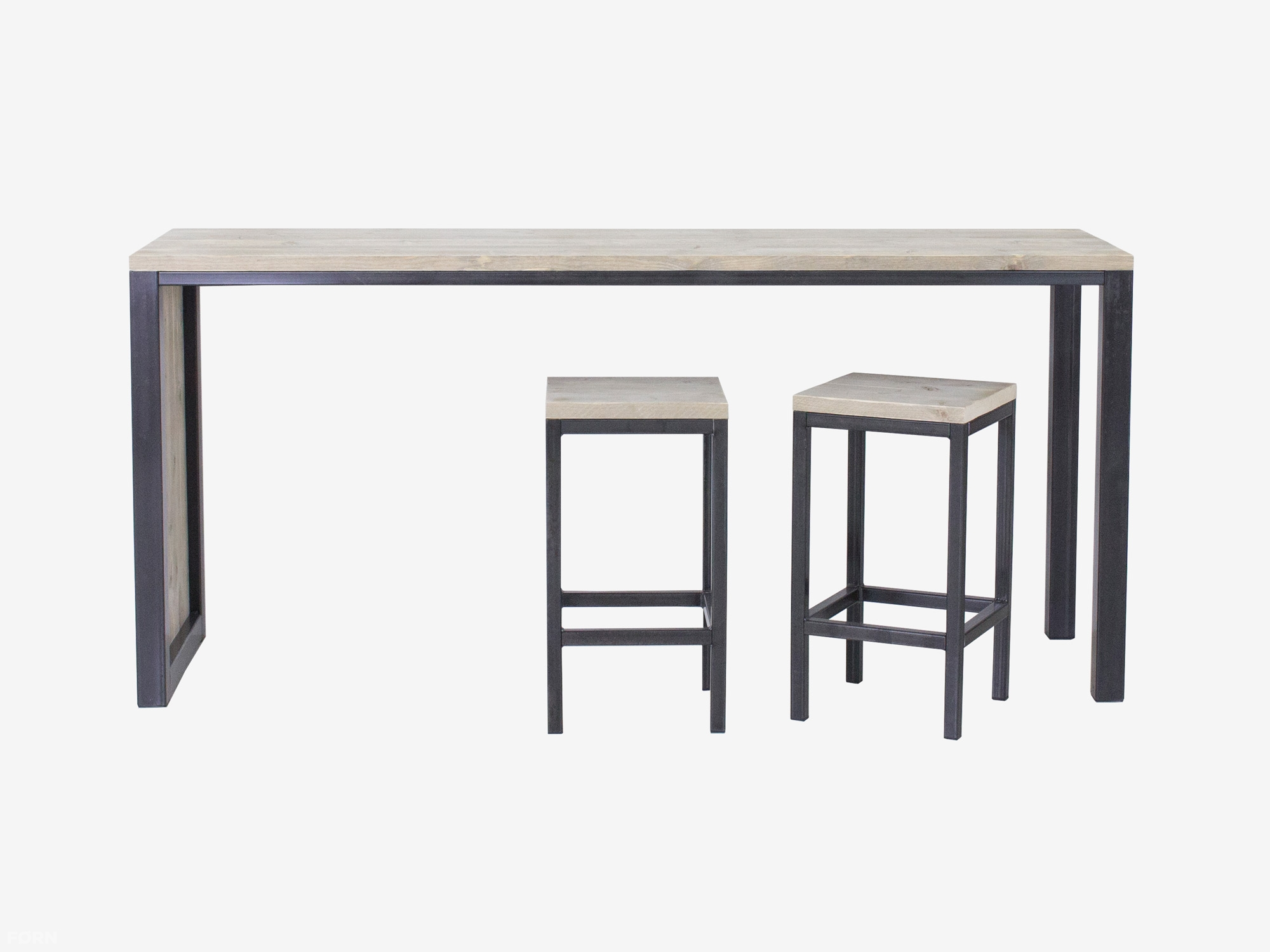 Iets Nieuws Steigerhouten bartafel | FØRN meubelen van steigerhout #EB87