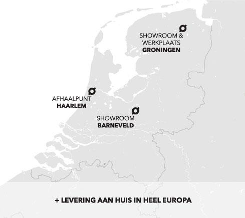 kaart met locaties forn