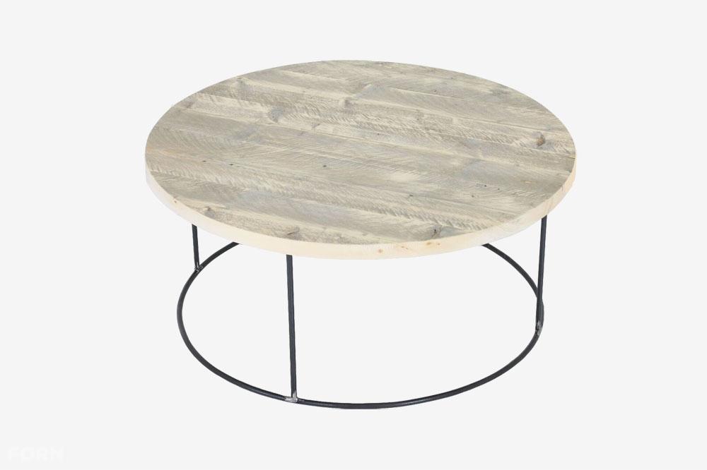 Betere Ronde industriële salontafel Otte | Industriële meubels op maat YW-84