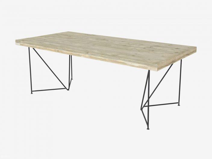 Steigerhouten tafel Dune witte achtergrond1
