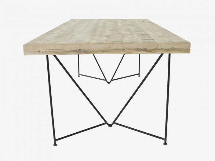 Steigerhouten tafel Dune witte achtergrond2