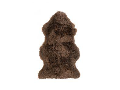 Zuiver schapenvacht Chocolade Bruin