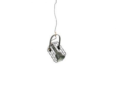Cage hanglamp Zwart