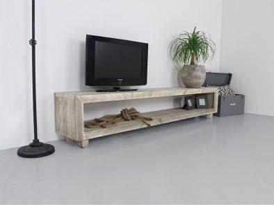 TV meubel steigerhout Bologna op maat gemaakt