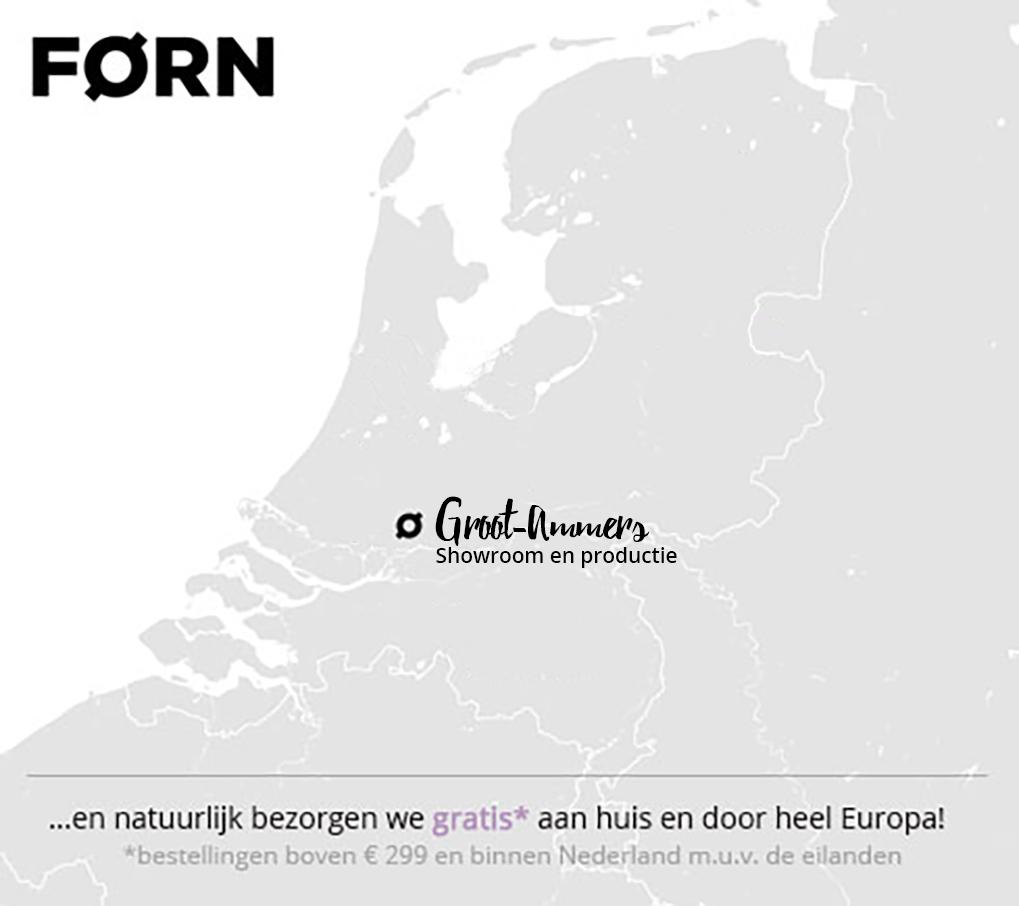 Kaart met locaties FØRN