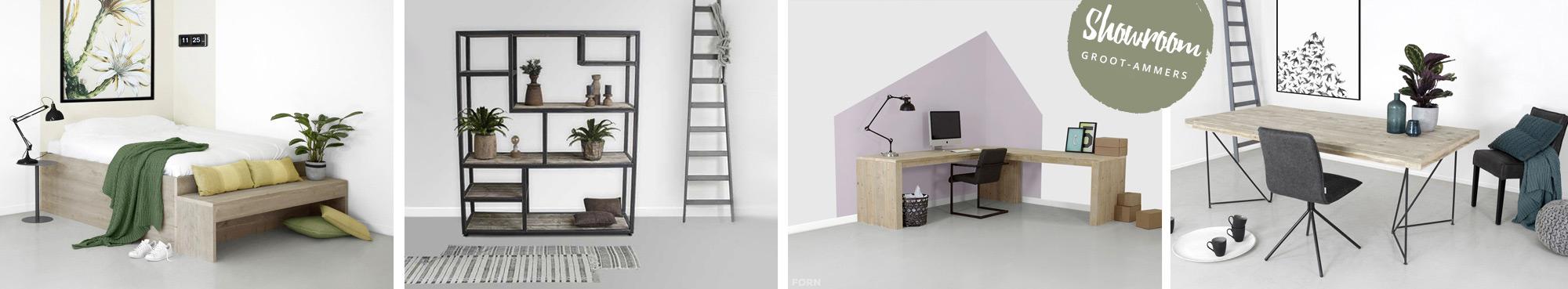 Maatwerk meubels en projecten, showroom in Zwolle.
